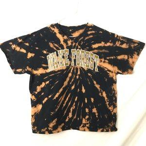Wake Forest Custom Tiedye T-shirt